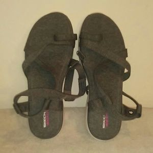 Skechers memory foam sandals